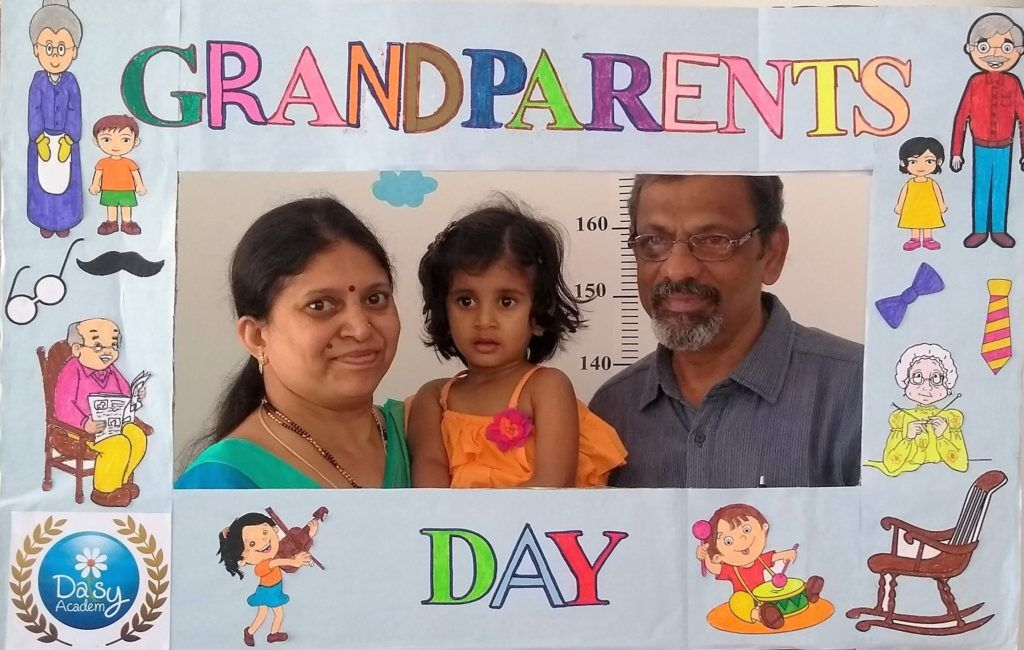 Grandparents Day Celebration in Daisy Montessori School Bangalore