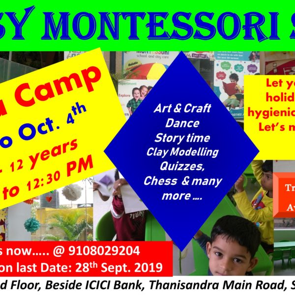 Dussehra Camp At Daisy Montessori