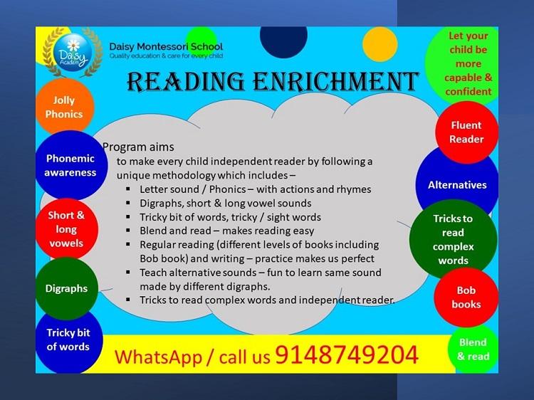 Reading Enrichment